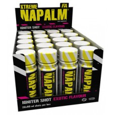 Предтрен Xtreme Napalm Igniter Shot, 60ml, FA Nutrition, fruit